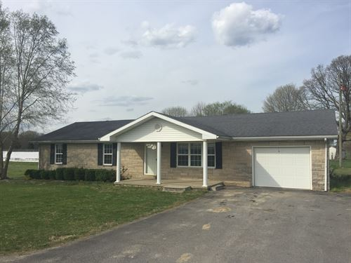Country Home 4 Bedrooms & Attached : Liberty : Casey County : Kentucky