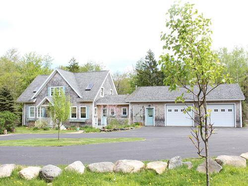 Country Home in Marshfield, ME : Marshfield : Washington County : Maine