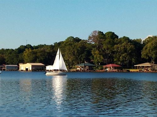 Waterfront Lot Lake Palestine : Bullard : Smith County : Texas