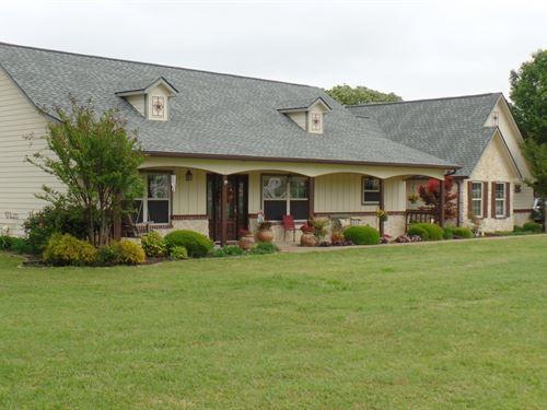 Lakefront Paradise East Texas Home : Yantis : Wood County : Texas