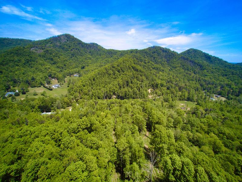 Mountain Acreage Gorgeous View : Marion : McDowell County : North Carolina