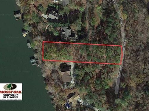 1 Acre Waterfront Lot For Sale in : Bracey : Mecklenburg County : Virginia