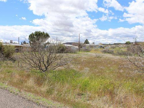 .53 Acres, Manufactured Home Lots : Cordes Lakes : Yavapai County : Arizona