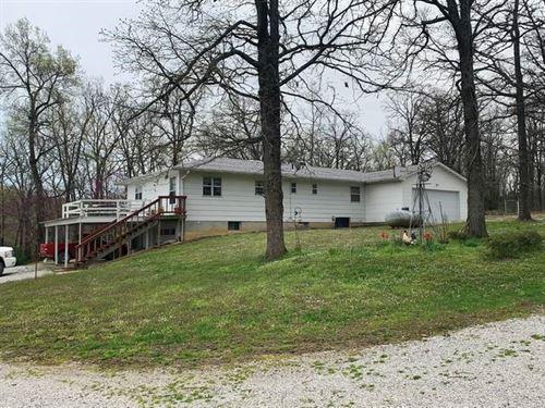 Home, Outbuildings, Live Water 43 : El Dorado Springs : Cedar County : Missouri
