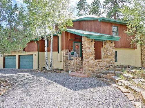 Modern Southwest Custom Home : Ridgway : Ouray County : Colorado