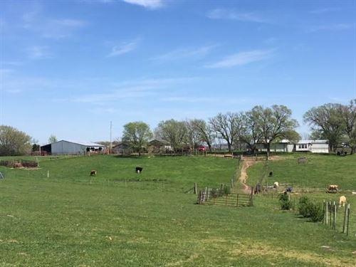Beautiful Cattle Farm 107 Acres : Vanzant : Douglas County : Missouri