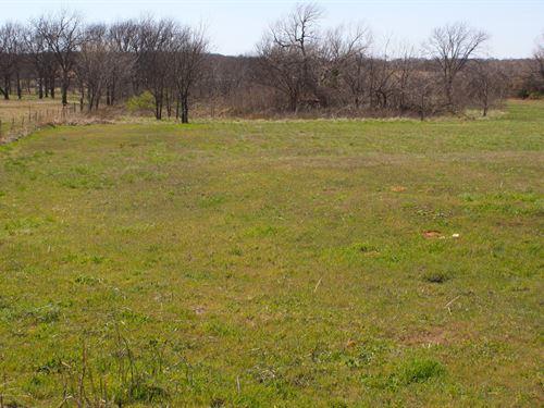 Central Oklahoma Country Acreage : Wellston : Lincoln County : Oklahoma