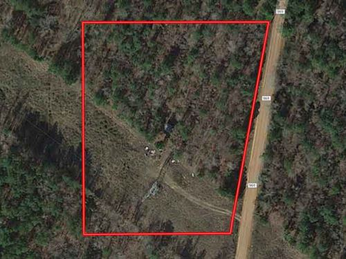 Secluded & Unrestricted Acreage : Cushing : Nacogdoches County : Texas