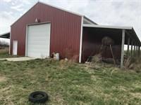 Bulding/ Shop On 17 Acres : Phil Campbell : Franklin County : Alabama