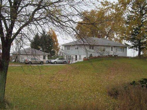 Beautiful 120 Acre Farm, 3 Bed Home : Carsonville : Sanilac County : Michigan