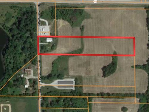 Upland, Indiana-5 Acres-Prime Buil : Upland : Grant County : Indiana