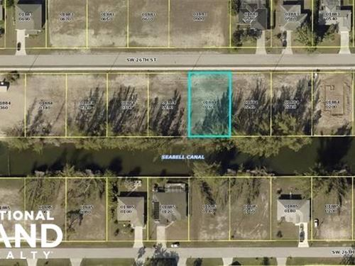 Nice Lot in Cape Coral : Cape Coral : Lee County : Florida