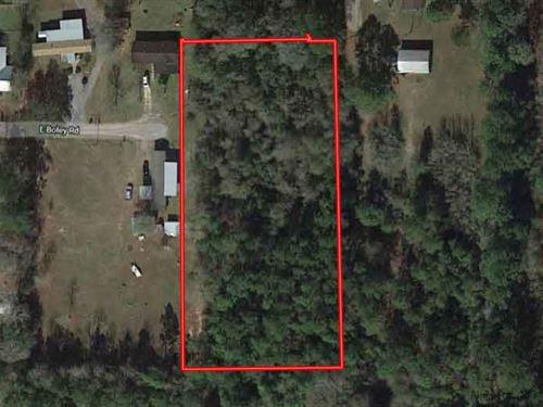 Quaint Residential Acreage : Silsbee : Hardin County : Texas