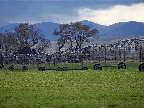 Finnegan Ranch : Three Forks : Gallatin County : Montana