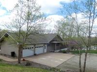 Home Acreage Private Lake Access MO : Rhineland : Montgomery County : Missouri