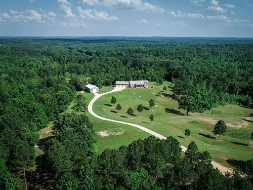 Luxury Country Home Acreage Tn, Big : Enville : Chester County : Tennessee