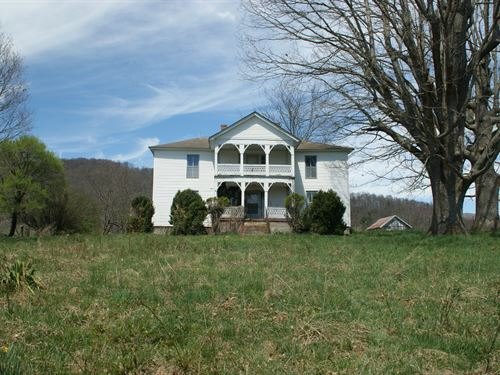 Gorgeous Farm In The Mountains : Independence : Grayson County : Virginia