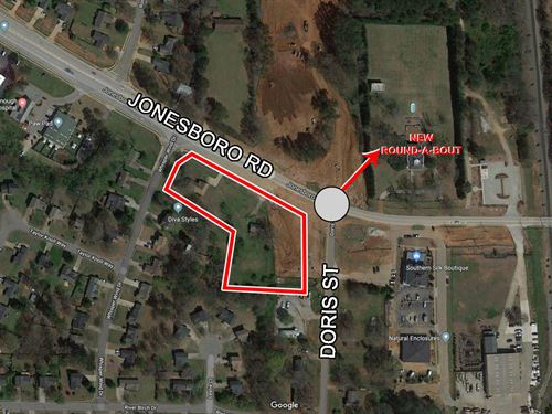 1.98 Acres For Sale, McDonough : McDonough : Henry County : Georgia