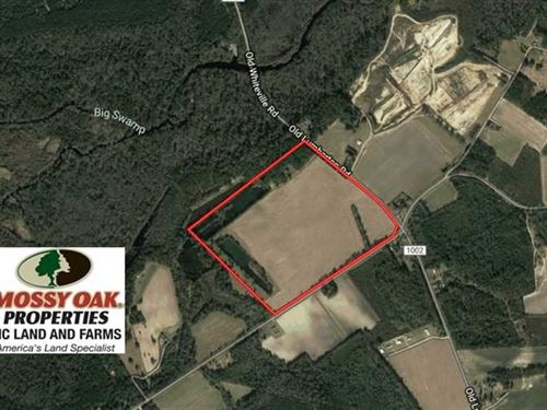 Under Contract, 97.15 Acres of Fa : Evergreen : Columbus County : North Carolina