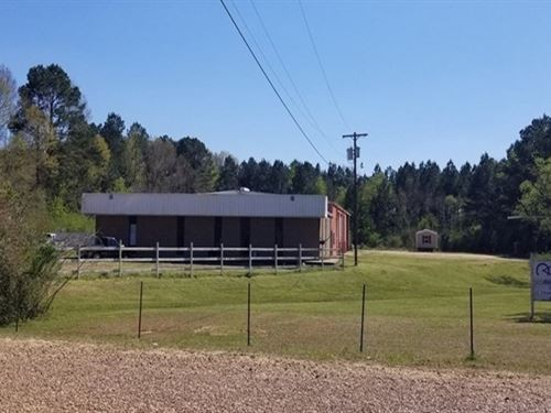 Commercial Property With 6.6 Acres : McComb : Pike County : Mississippi