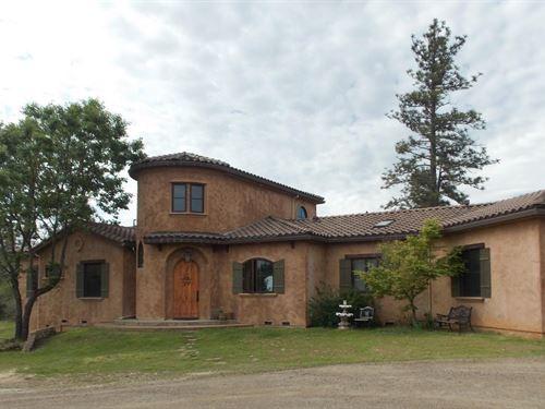 Elegant Country Tuscan Villa : Grass Valley : Nevada County : California