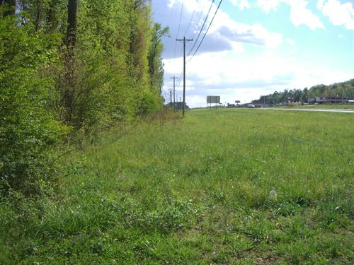 3.8 Ac Commercial Land : Scottsboro : Jackson County : Alabama