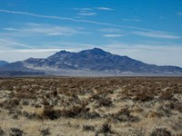 Wide Open Spaces And Blue Sky : Golcanda : Humboldt County : Nevada