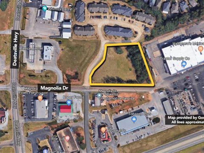 Land, Approx 47.29Ac Lot : Millbrook : Elmore County : Alabama