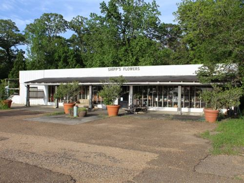 Commercial Property With A 1 Acre : Brookhaven : Lincoln County : Mississippi