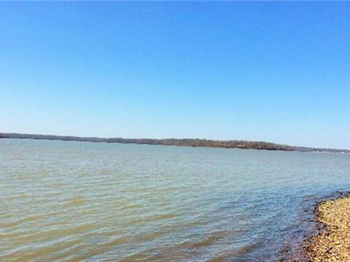 Waterfront Building Lots River : Big Sandy : Benton County : Tennessee