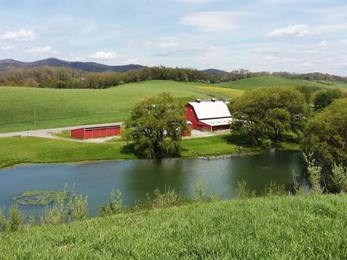 Pond 16 Acres in Smyth County, VA : Rural Retreat : Smyth County : Virginia