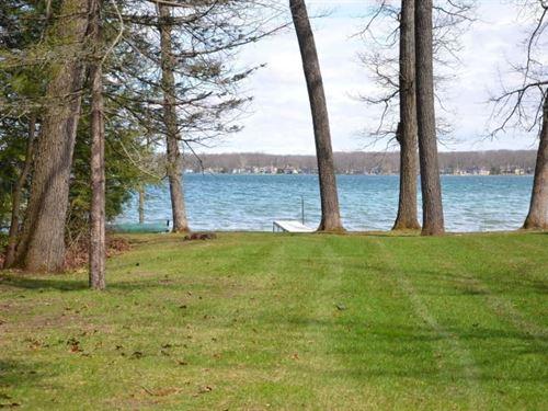 Beautiful Gull Lake Lot Desirable : Richland : Kalamazoo County : Michigan