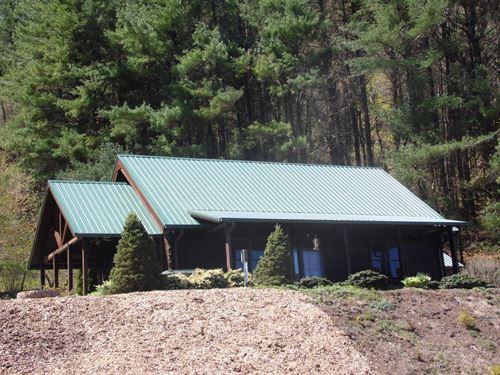 Custom Log Home Ennice, NC : Ennice : Alleghany County : North Carolina