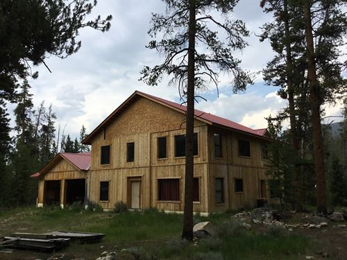 380 Wolf Canyon Drive : Almont : Gunnison County : Colorado