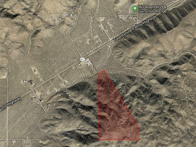77 Acre Glamping Girl Mountain : Morongo Valley : San Bernardino County : California