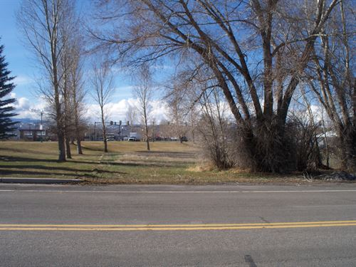 Commercial In Town Lot : Gunnison : Colorado