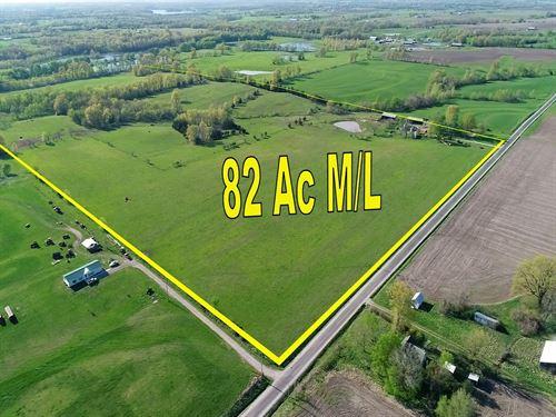 Pasture/Farm Land 2 Ponds, Johnson : Concordia : Johnson County : Missouri
