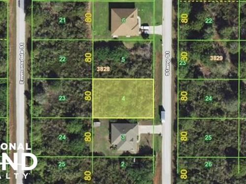 Amazing Port Charlotte Lot : Port Charlotte : Charlotte County : Florida