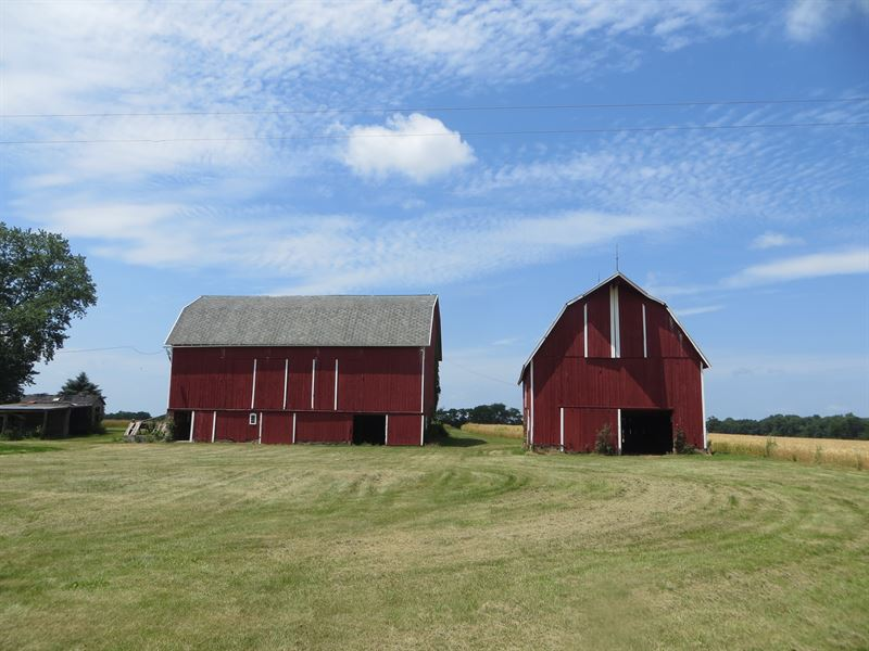 Cheslea Historic Farm On 80 Acres : Dexter : Washtenaw County : Michigan