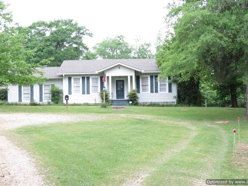 Land With Farmhouse : Brookhaven : Lincoln County : Mississippi