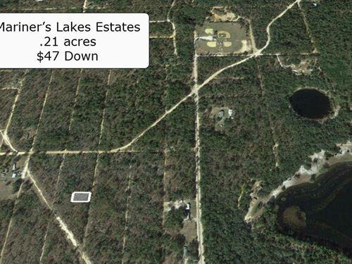 .21 Acre -Lake & Fishing Community : Interlachen : Putnam County : Florida