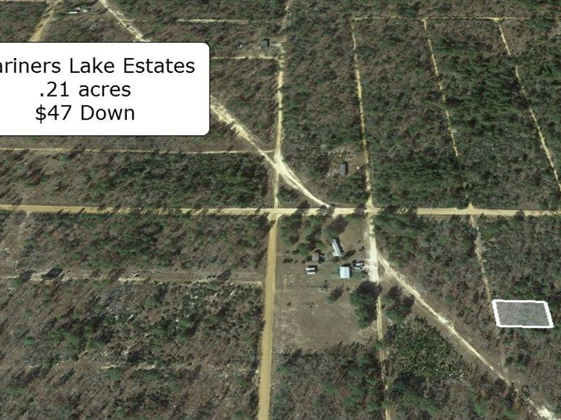 .21 Acre In Mariners Lake Estates : Interlachen : Putnam County : Florida