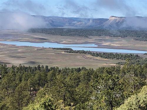 Land Heron Lake Breathtaking Views : Rutheron : Rio Arriba County : New Mexico