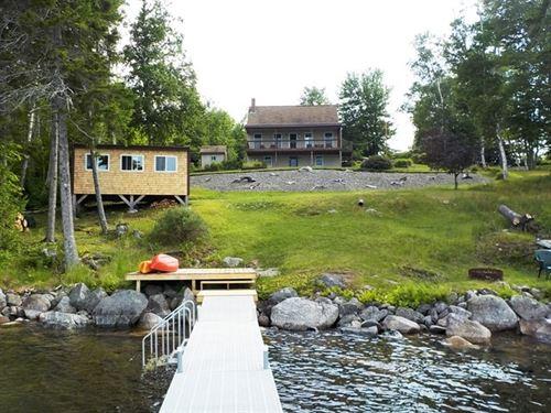 Lakefront Home Cathance Twp, Maine : Lubec : Washington County : Maine