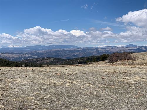 11.9 Acres Secluded Mountain : Cripple Creek : Teller County : Colorado