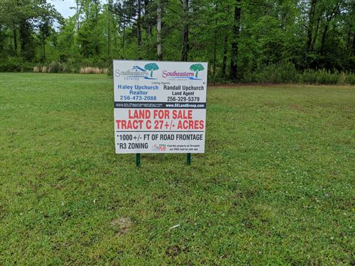 Tract C Talladega 27+/- Acres : Talladega : Alabama