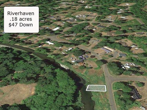 Exclusive .18 Acre Waterfront Lot : Elma : Mason County : Washington