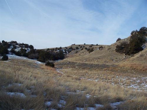 North Platte River Bluffs : Lewellen : Garden County : Nebraska