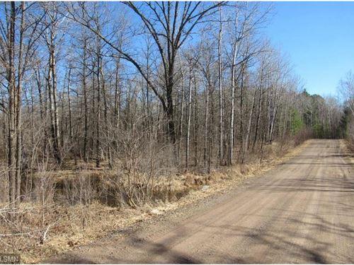 Small Acreage Lake Frontage & Creek : Moose Lake : Carlton County : Minnesota