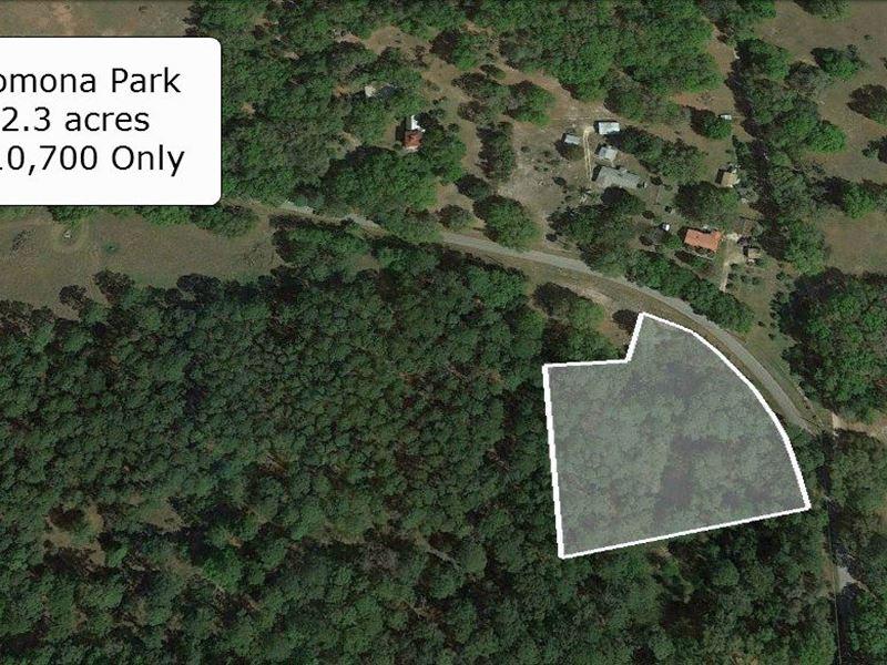 2.3 Acre Great For Farming : Pomona Park : Putnam County : Florida